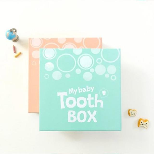 【韓國mellow】乳牙故事收藏盒-story box天藍/柔粉(現貨+預購/紀錄成長過程)
