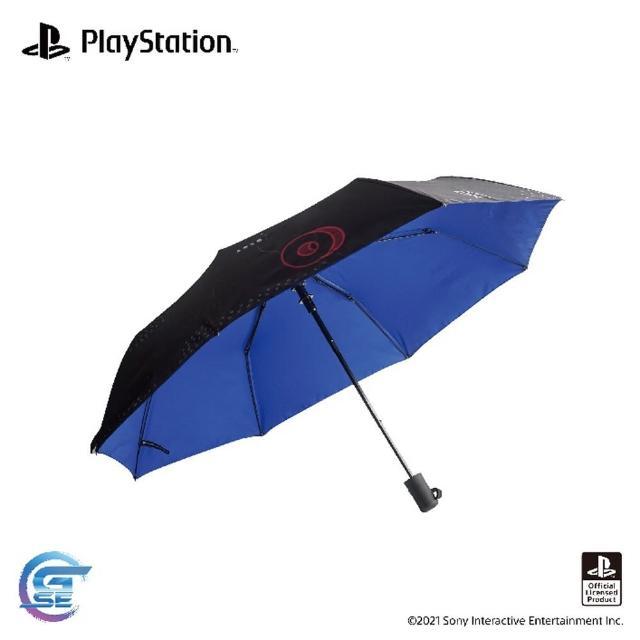 【SONY 索尼】PlayStation 主題周邊 預購9/3上市★(黑色雙變雨傘)