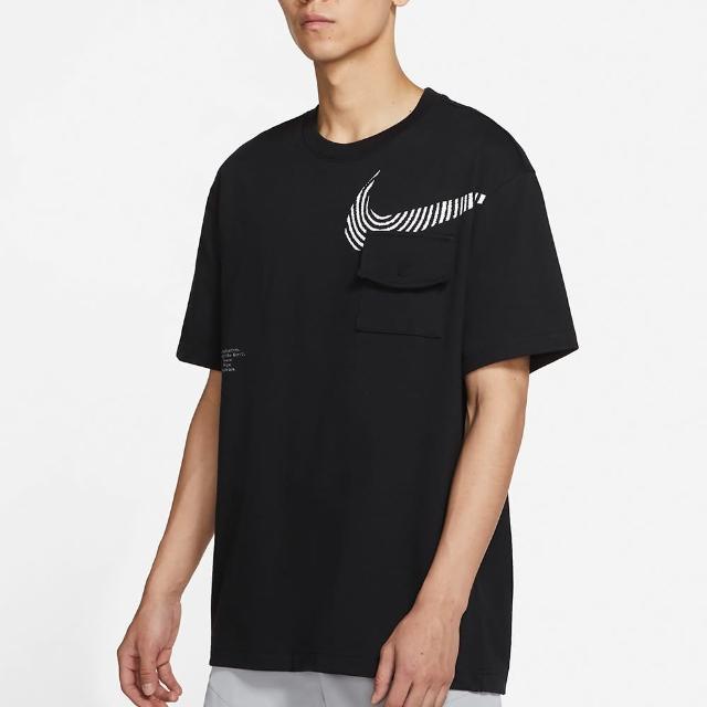 【NIKE 耐吉】上衣 男款 短袖上衣 運動 Sportswear 黑 DM7898-010