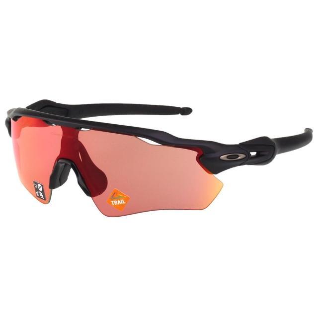 【Oakley】水銀面 一體成型 太陽眼鏡(黑色)