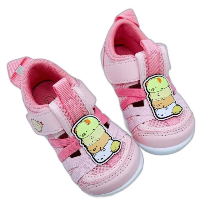 【樂樂童鞋】台灣製角落生物寶寶鞋-粉色-B017(女童鞋 男童鞋 寶寶鞋 學步鞋)