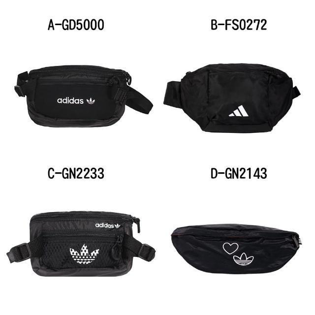 【adidas 愛迪達】腰包 斜肩包 PE WAISTBAG L - A-GD5000 B-FS0272 C-GN2233 D-GN2143