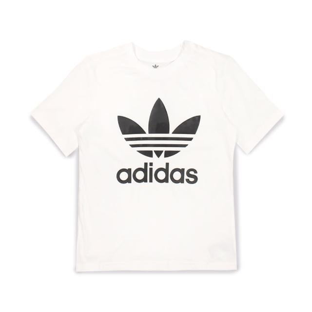【adidas 愛迪達】棉質運動套裝 SHORT TEE SET 童裝-GP0194