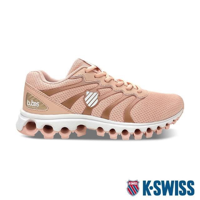 【K-SWISS】輕量訓練鞋 Tubes Comfort 200-女-蜜桃橘(97328-673)
