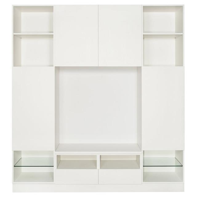 【Arkhouse】伯利恆系列-客廳入門款電視高櫃W200*H218*D50