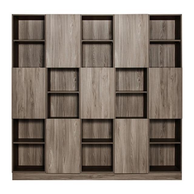 【Arkhouse】伯利恆系列-書房七門三十格7.5尺五高櫃W225*H218*D35