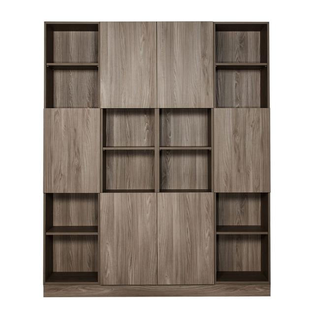【Arkhouse】伯利恆系列-書房六門二十四格6尺四高櫃B款W180*H218*D35