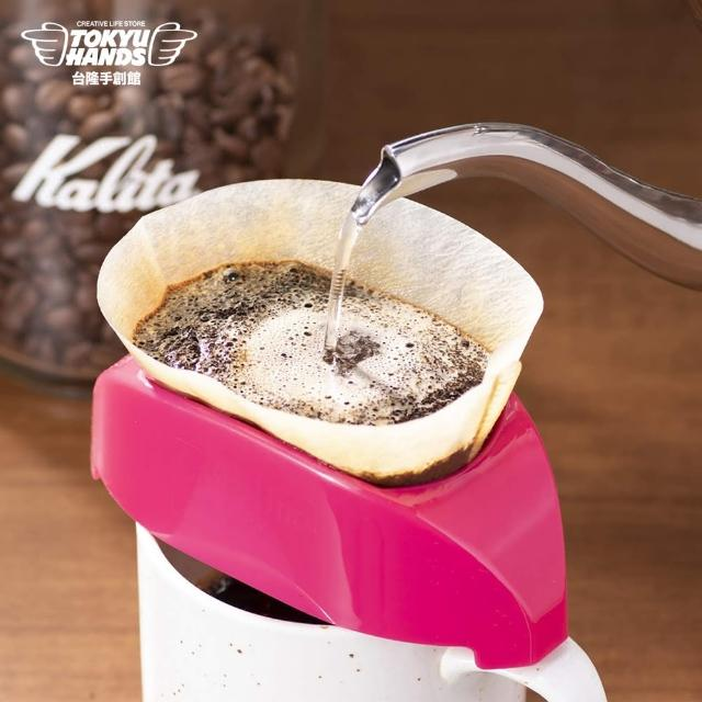 【TOKYU HANDS 台隆手創館】日本KALITA 手沖咖啡濾器(粉/黃)