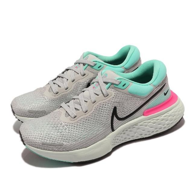 【NIKE 耐吉】Zoomx Invincible Run FK 男鞋 慢跑鞋 家後泡棉 避震 支撐 透氣 運動 灰 綠(CT2228-003)