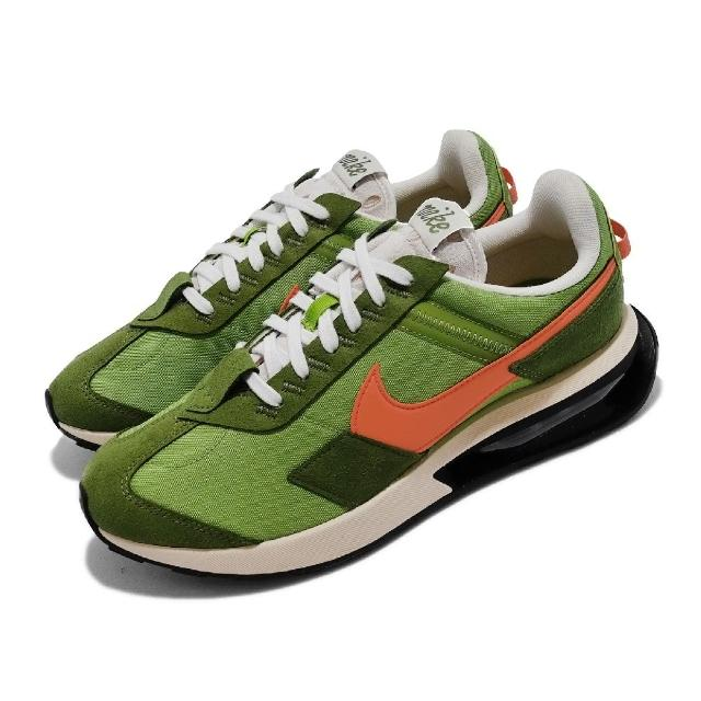 【NIKE 耐吉】休閒鞋 Air Max Pre-Day LX 男女鞋 氣墊 舒適 避震 運動 情侶穿搭 綠 橘(DC5330-300)