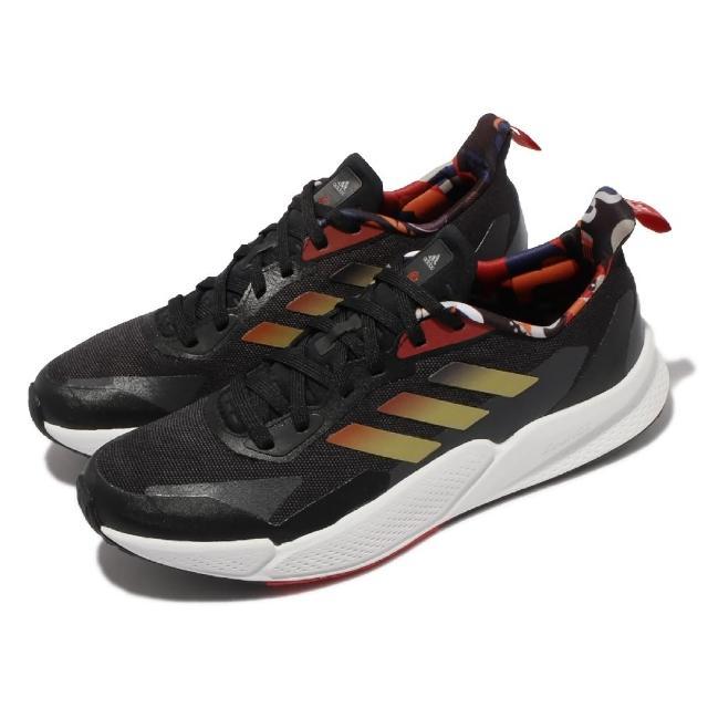【adidas 愛迪達】慢跑鞋 X9000L2 M 運動 男鞋 海外限定 愛迪達 輕量 透氣 舒適 避震 黑 白(GZ7604)