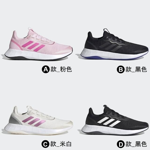 【adidas 愛迪達】慢跑鞋 QT RACER SPORT 女鞋 多款任選(FY5676 FY5678 FY5679 FY5680)