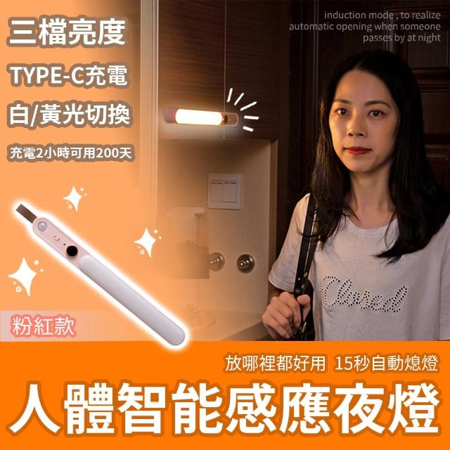 【s plaything生活百貨】LED人體智能感應夜燈