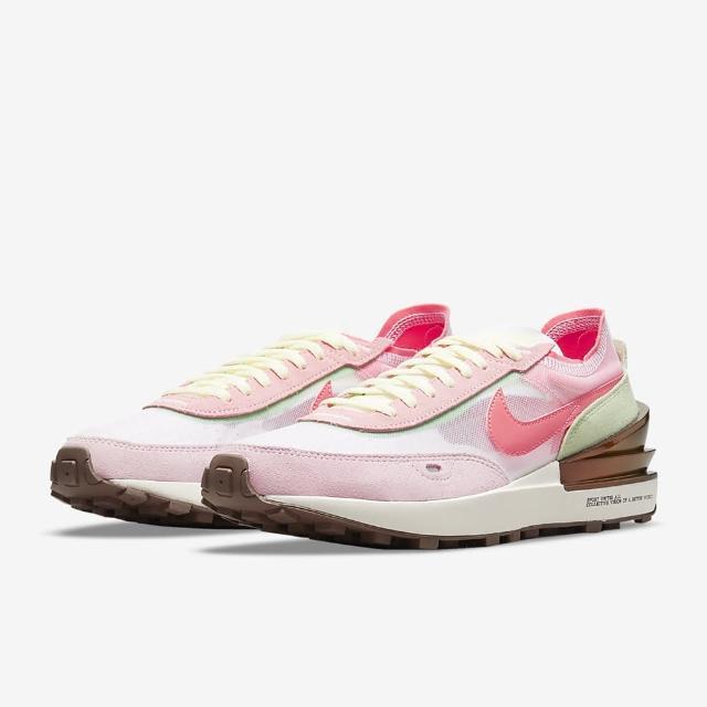【NIKE 耐吉】休閒鞋 W NIKE WAFFLE ONE 女鞋 粉(DM5452161)