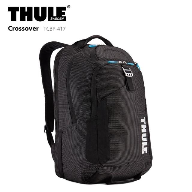 【Thule 都樂】32L 後背包 TCBP-417 電腦包 15吋 筆電包 Crossover(休閒包/商務包)