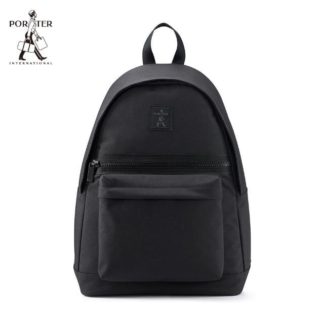 【PORTER INTERNATIONAL】SHELTER簡約後背包-L(黑)