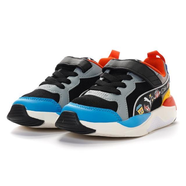【PUMA】X-Ray AC PS Club Pack 兒童運動鞋 休閒鞋 童鞋 魔鬼氈 輕量(38398701)