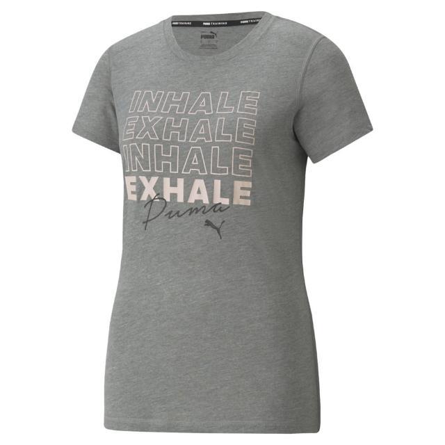 【PUMA官方旗艦】訓練系列圖樣短袖T恤 女性 52091903