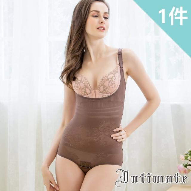 【Intimate 內著】歐美指定彈力美型衣(特惠咖啡色1件組)