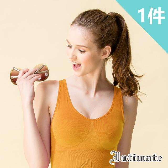 【Intimate 內著】好穿必備經典款無鋼圈內衣- S-XXL(特惠橙色1件組)